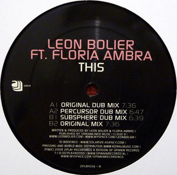 (27320) Leon Bolier Feat. Floria Ambra – This