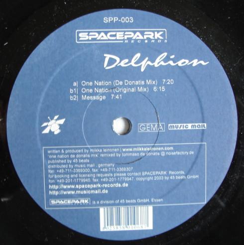 (27190) Delphion – One Nation