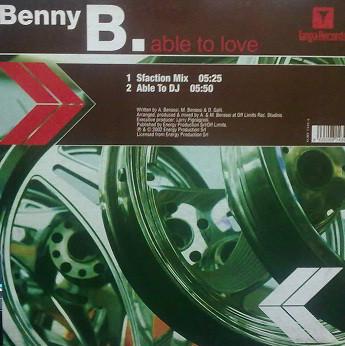 (28332B) Benny Benassi Presents The Biz / Benny B – Satisfaction / Able To Love
