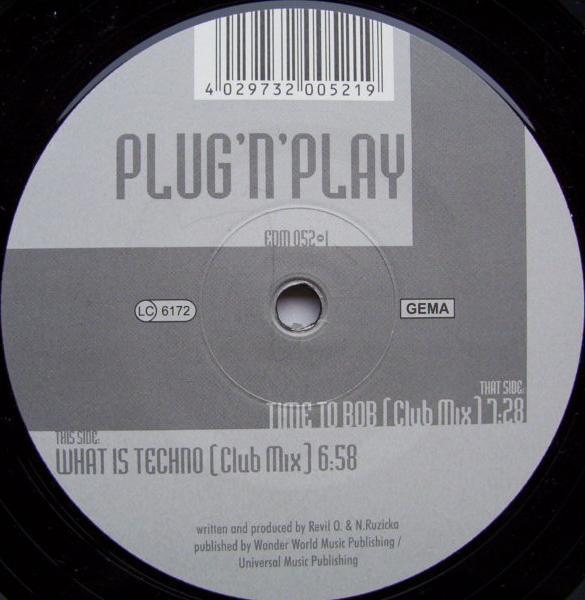 (25572) Plug 'N' Play – Time To Bob