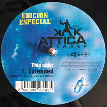 (20696) Abel Ramos Presents Overdrive / Alberto Tapia, Pedro Miras & DJ Abel Presents Attica – Das Spiegel / Time Warp (Edición Especial)
