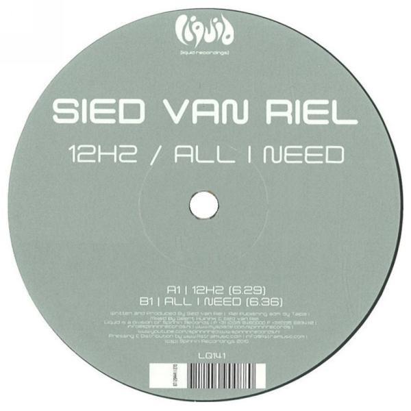 (27316) Sied van Riel – 12Hz / All I Need
