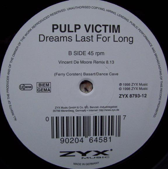 (25247) Pulp Victim – Dreams Last For Long