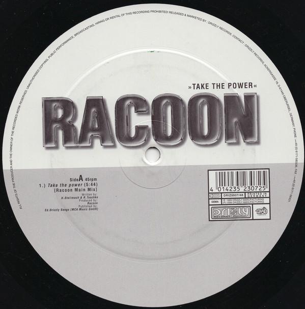 (23635) Racoon ‎– Take The Power
