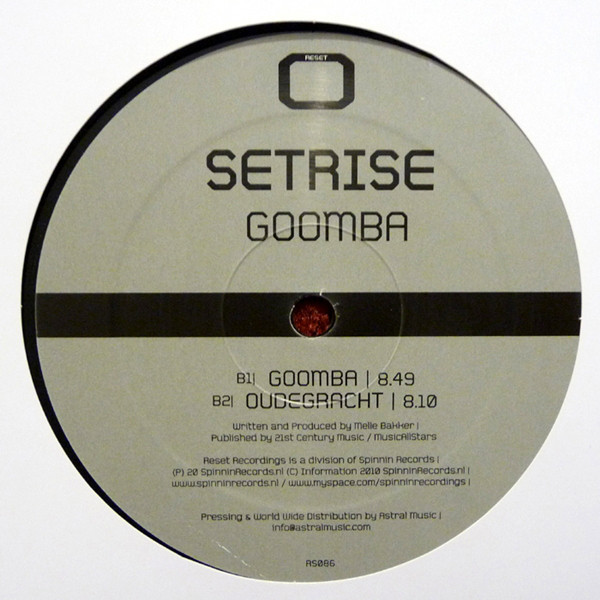 (27336) Guy Mearns / Setrise ‎– Hopes & Tears / Another Agenda / Goomba / Oudegracht