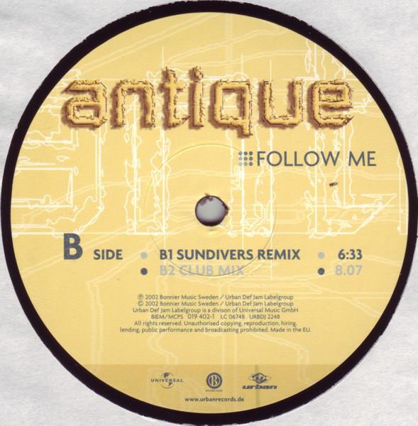 (CUB022) Antique – Follow Me