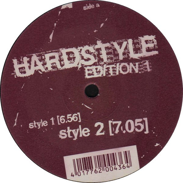 (A3050) Unix ‎– Hardstyle Edition 1