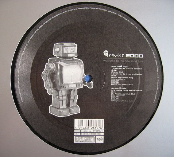 (JR1444) Gravity 2000 – Welcome To The New Millenium