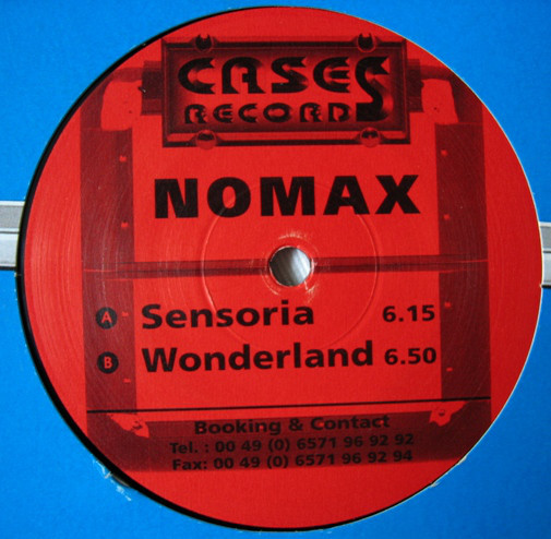 (CH0105) Nomax – Sensoria / Wonderland