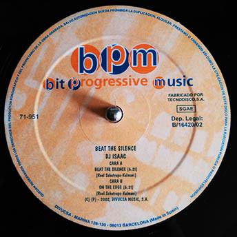 (A0008B) DJ Isaac – Beat The Silence / On The Edge