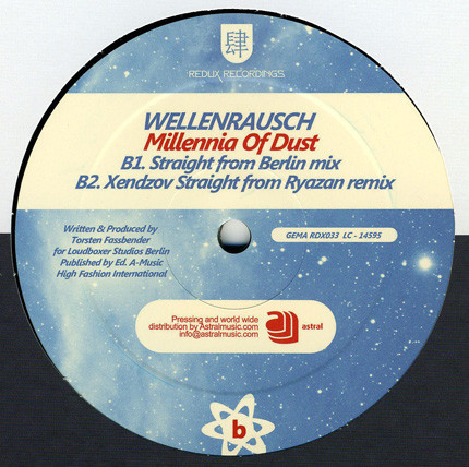 (27335) Wellenrausch & Velvet Skies feat. Tiff Lacey / Wellenrausch – Watching Jupiter & Mars / Millennia Of Dust