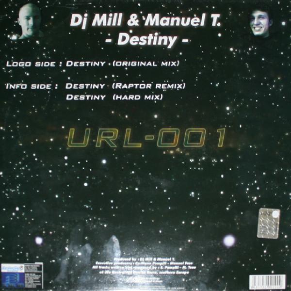 (CUB0286) DJ Mill & Manuel T. – Destiny