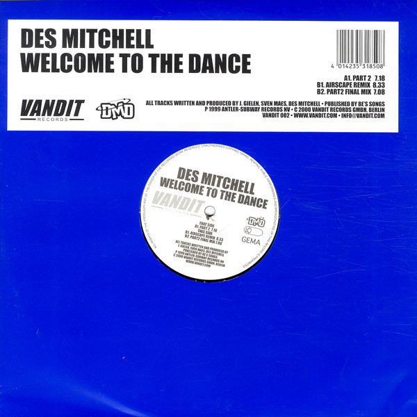 (8325) Des Mitchell – Welcome To The Dance
