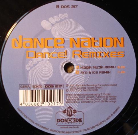 (A1664) Dance Nation – Dance! Remixes