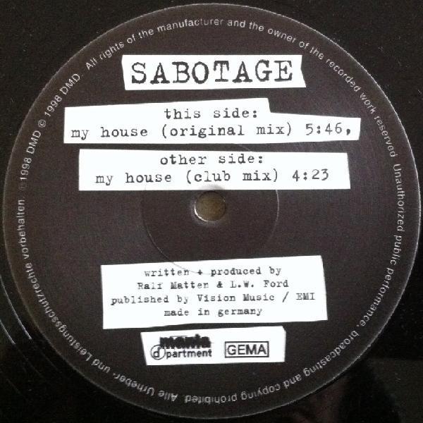 (27645) Sabotage – My House