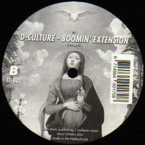 (26033) D-Culture ‎– Hostile Application / Boomin' Extension
