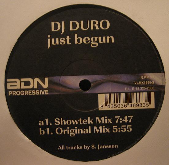 (1275) DJ Duro – Just Begun