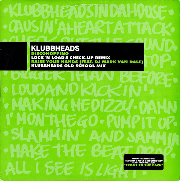 (A3077) Klubbheads – Discohopping / Raise Your Hands