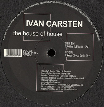 (7510) Ivan Carsten – The House Of House