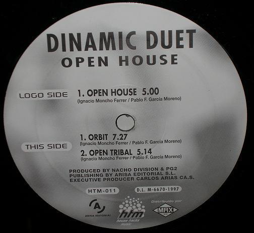 (30901) Dinamic Duet – Open House