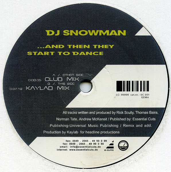 (22527) DJ Snowman – ...And Then They Start To Dance