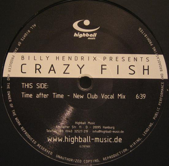 (A3080) Billy Hendrix Presents Crazy Fish – Time After Time (Remixes)