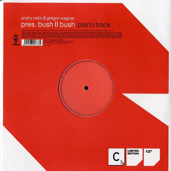 (8637) Bush II Bush – Piano Track