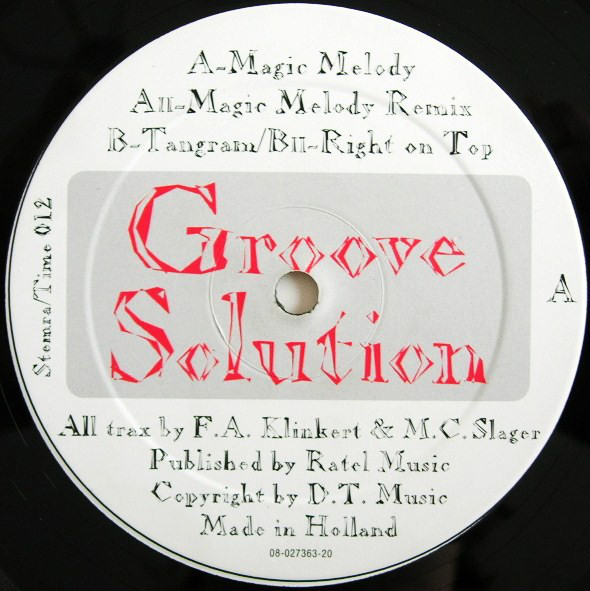 (CM1129) Groove Solution ‎– Magic Melody
