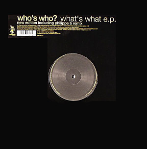 (FR188) Who's Who? – What's What E.P. (New Edition)