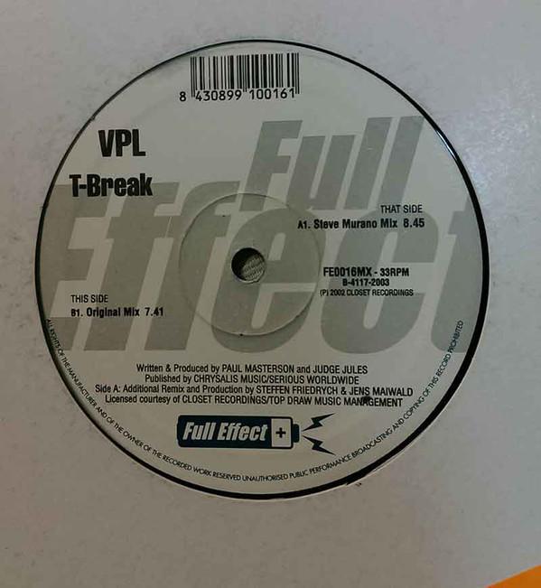 (27289) VPL – T-Break