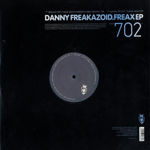 (10036) Danny Freakazoid – Freax EP