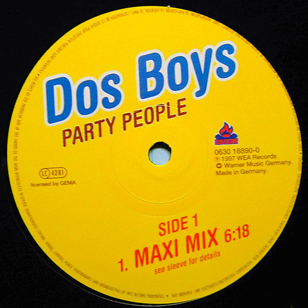 (25383) Dos Boys – Party People
