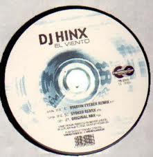 (1484) DJ Hinx – El Viento (VINILO BLANCO) (pegatina en galleta)