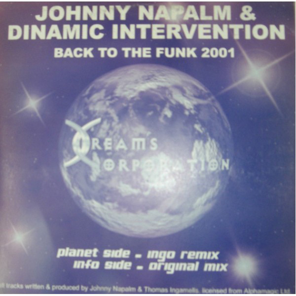 (20786) Johnny Napalm & Dinamic Intervention – Back To The Funk 2001