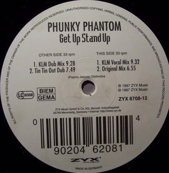 (24846B) Phunky Phantom – Get Up Stand Up
