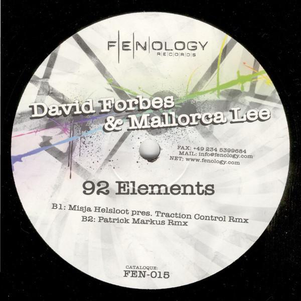 (27328) David Forbes & Mallorca Lee – 92 Elements