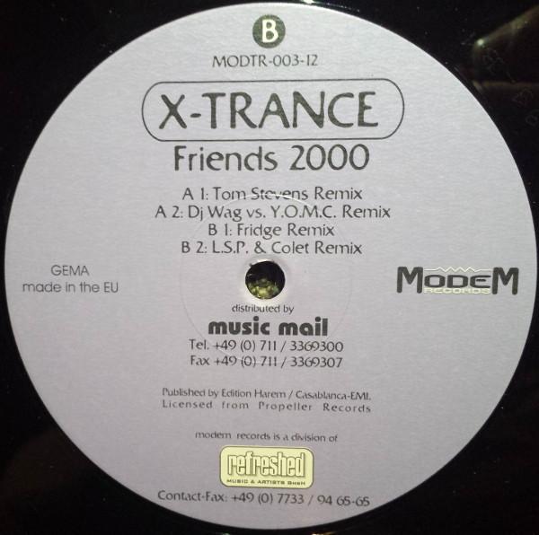 (27808) X-Trance – Friends 2000 (Remixes)