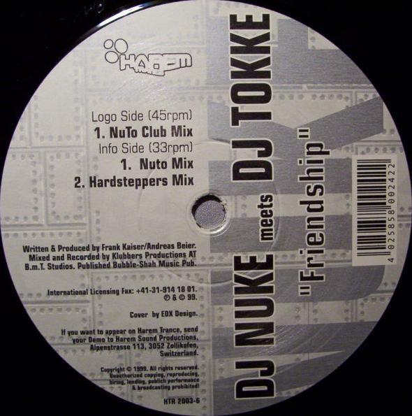 (25627) DJ Nuke Meets DJ Tokke – Friendship