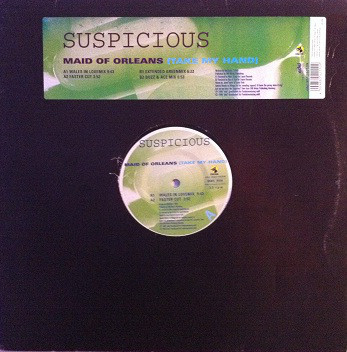 (21917) Suspicious ‎– Maid Of Orleans (Take My Hand)