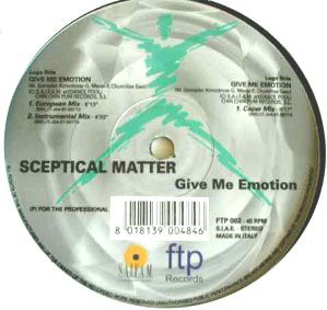 (JR1214) Sceptical Matter ‎– Give Me Emotion