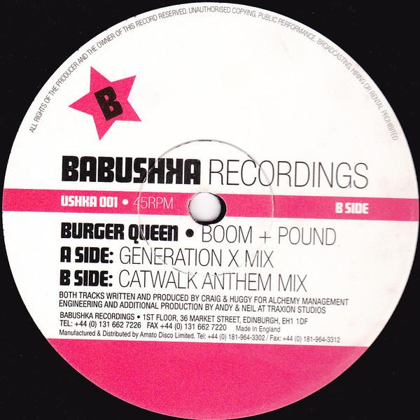 (27303) Burger Queen – Boom + Pound