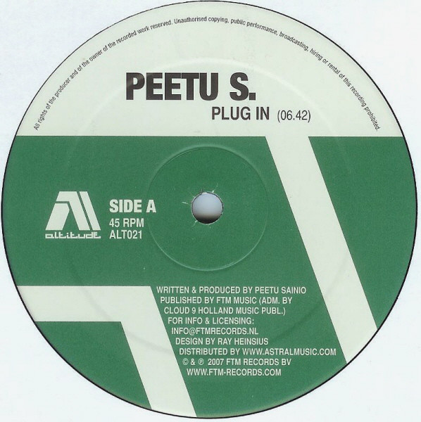 (13437) Peetu S – Plug In / Rio Avenue / Bigger Palace