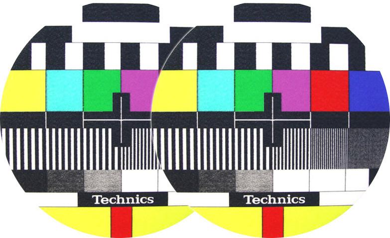 2x Slipmats - Technics TV
