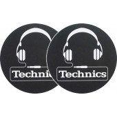 2x Slipmats - Technics Headphones
