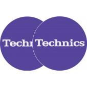 2x Slipmats - Technics - Púrpura