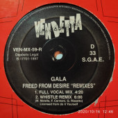 (CM552) Gala – Freed From Desire