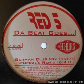 (V0192) Red 5 ‎– Da Beat Goes...