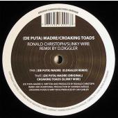 (CUB2635) Ronald Christoph / Slinky Wire – (De Puta) Madre / Croaking Toads