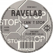 (7244) Ravelab ‎– I Can't Stop / Send Me An Angel