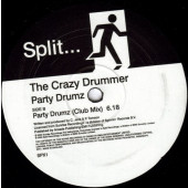 "(JR1475) The Crazy Drummer – Party Drumz (2x12"")"